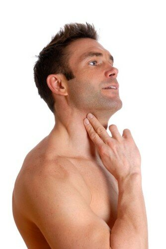 пульс на шее у мужчин