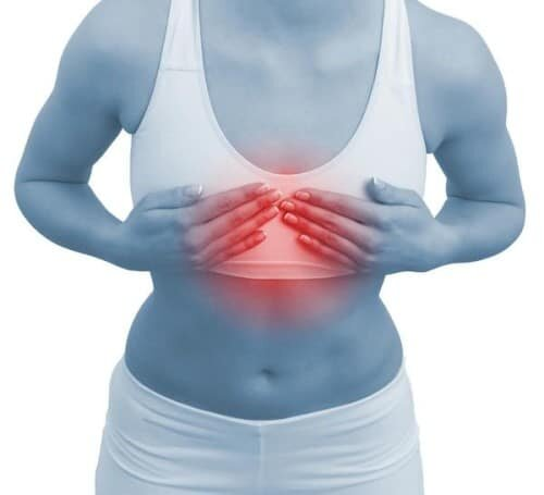 жгучие боли в грудине
