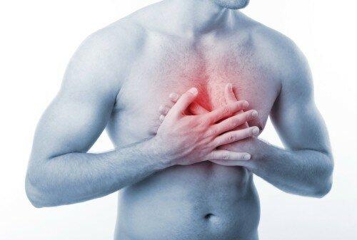 диагностика болей за грудиной