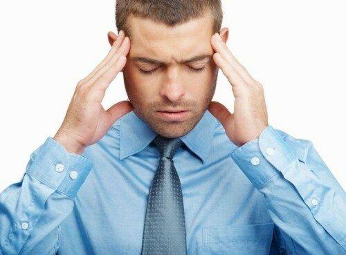 учащенное сердцебиение и головная боль
